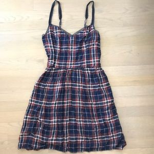 Red White and Blue Abercrombie Dress Size M